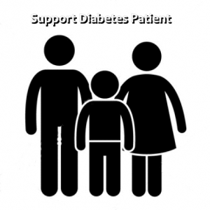 support diabetes patient